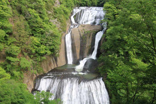 袋田の滝 上からの眺め