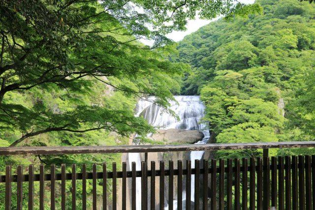袋田の滝 展望デッキ