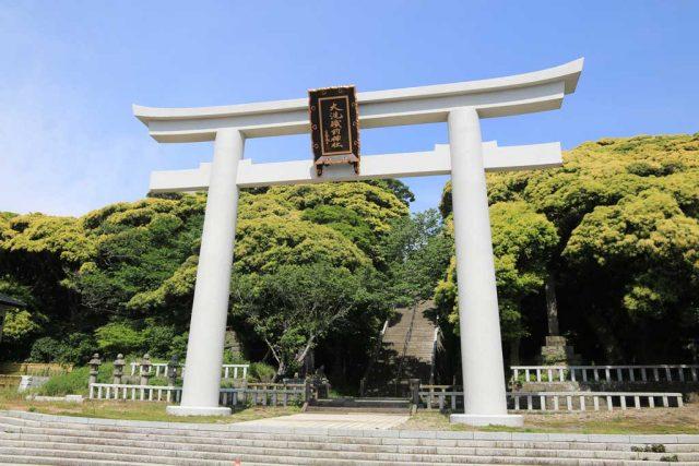 大洗磯前神社の大鳥居