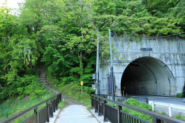 みしま宿に隣接するトンネル