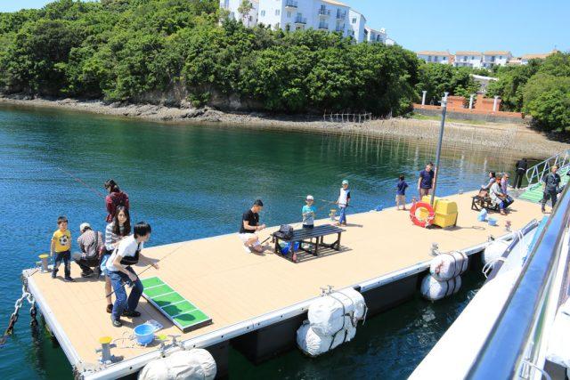 志摩地中海村で釣を楽しむ