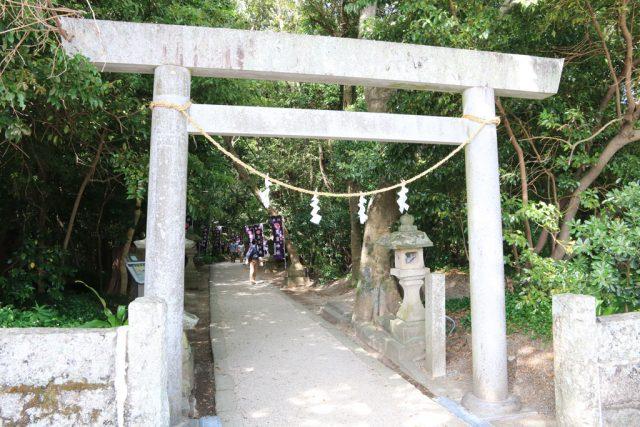 花窟神社の鳥居