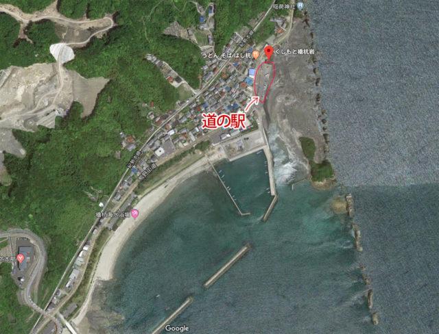 橋杭岩 空からの写真