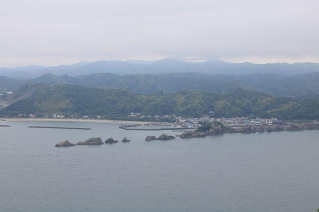 金山展望台からの橋杭岩